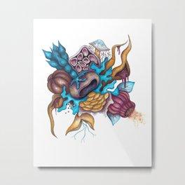 Toxic II: 5 Metal Print