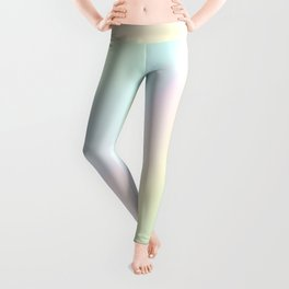 Pale Pastel Abstract Design Leggings