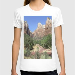 Crossroads At The Court Of The Patriarchs T-shirt
