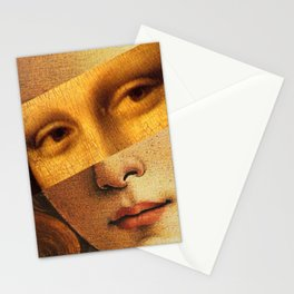 Leonardo's Mona Lisa & Botticelli's Venus Stationery Cards