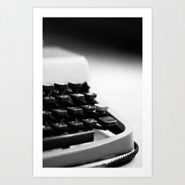 Portable Typewriter Art Print