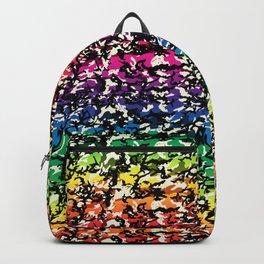 TCR-CAMO PRINT back pack -rainbow Backpack