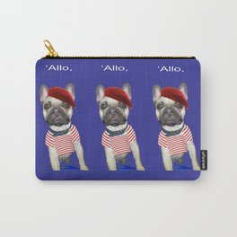 Hello from Pierre the French Bulldog Carry-All Pouch
