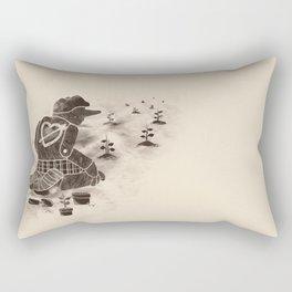 Giving Back Rectangular Pillow