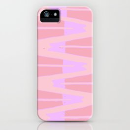 Pink and Purple iPhone Case