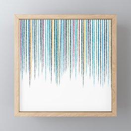 Spring Shower Framed Mini Art Print