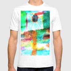 ANoTHeR SuN MEDIUM Mens Fitted Tee White