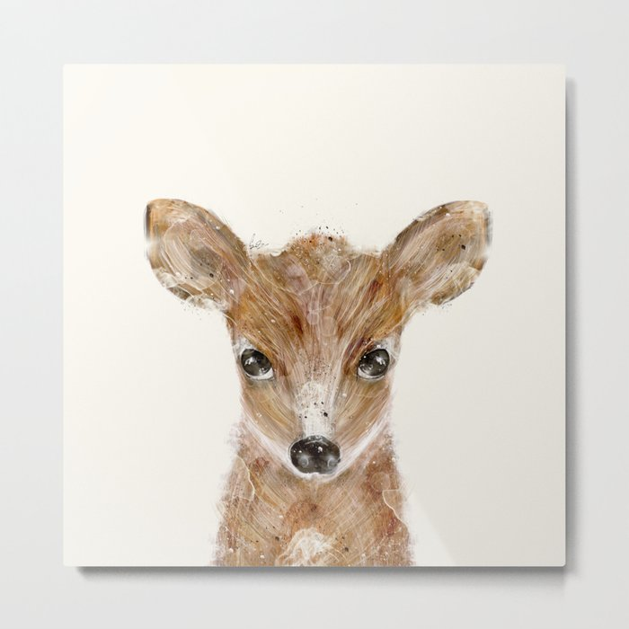 little deer fawn Metal Print