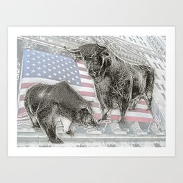 Have a NYSE day! Art Print