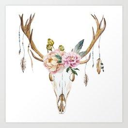 Animal Skull 09 Art Print
