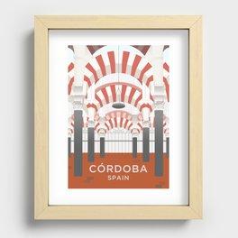 Córdoba Art Print Recessed Framed Print