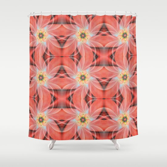 Cherry Blossom Pattern Shower Curtain
