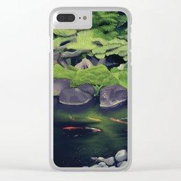 The Koi of Koko-en Garden Clear iPhone Case