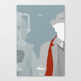 """Doctor Who 50th Anniversary Posters - """"The 7th Doctor"""" Canvas Print"""