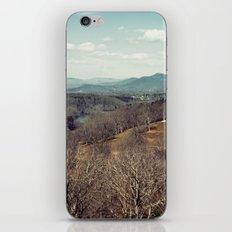 Blue Ridge Mountains iPhone & iPod Skin