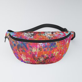 Superhero Type Art Comics Spider Fanny Pack