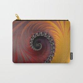 Sunset Spiral - Fractal Art  Carry-All Pouch