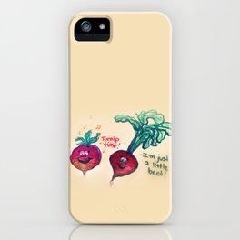 Turnip time! iPhone Case