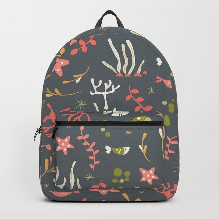 Sea creatures 007 Backpack