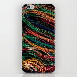 Rainbow colors iPhone Skin