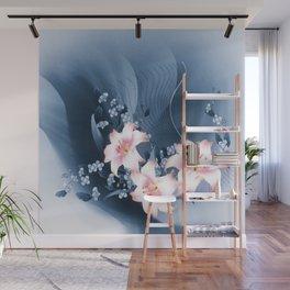 Lilien - lilies Wall Mural
