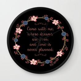 Come With Me, Peter Pan Wall Clock
