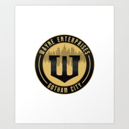 Wayne Enterprises Art Print