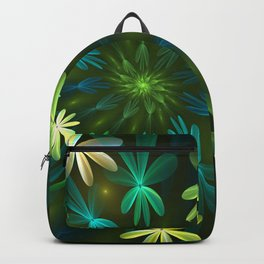 Fantasy Flowers, Fractal Art Backpack