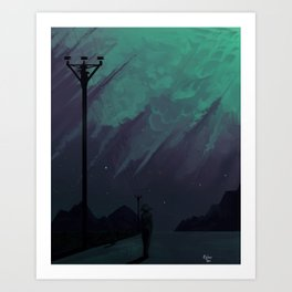 Sensitive Art Print