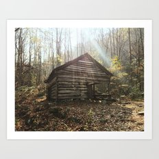 Tennessee Cabin Art Print