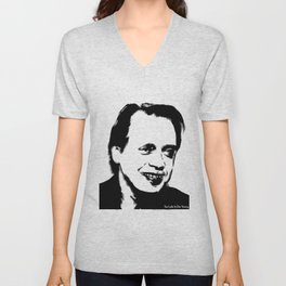 Too Late to Buscemi Unisex V-Neck