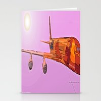 aviation Stationery Cards featuring AVIATION by PALEOMODERN