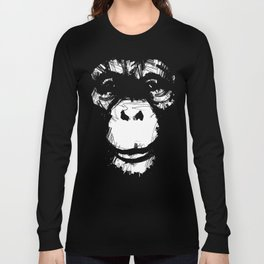 Everything's More Fun With Monkeys! Long Sleeve T-shirt