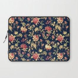 Shabby Floral Print Laptop Sleeve