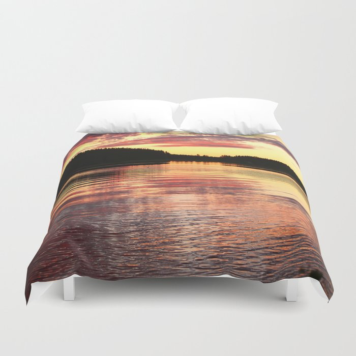 Summer Evening Duvet Cover