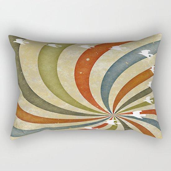 migratory birds Rectangular Pillow