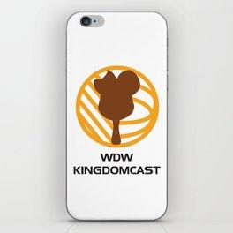 WDW Kingdomcast - Classic logo iPhone Skin