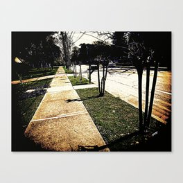 Sidewalk 921 Canvas Print