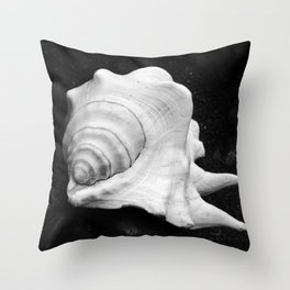 Shell No.2 Throw Pillow
