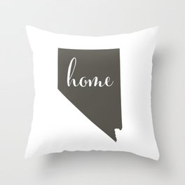 Nevada is Home Throw Pillow