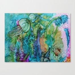 Beneath the Sea Canvas Print