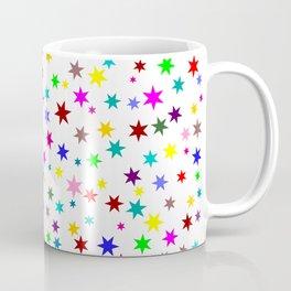 Colorful stars Coffee Mug