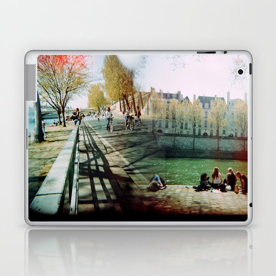 Paris in the Spring Time 2 Laptop & iPad Skin