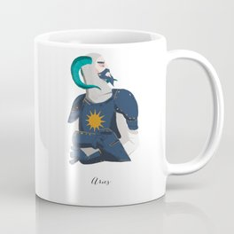Human Horscope - Aries Coffee Mug