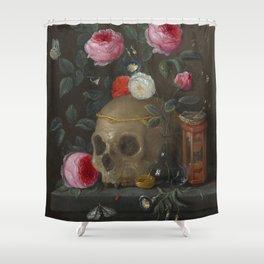 Jan van Kessel Vanitas Still Life Shower Curtain