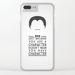 Character Clear iPhone Case
