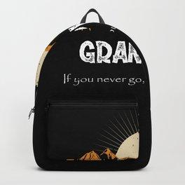 Grandview Hiking Mountains Vintage Women Backpack