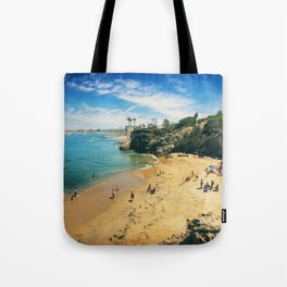 Playful Shores Tote Bag