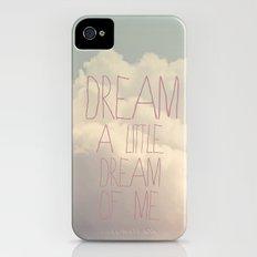 Dream A Little  Slim Case iPhone (4, 4s)
