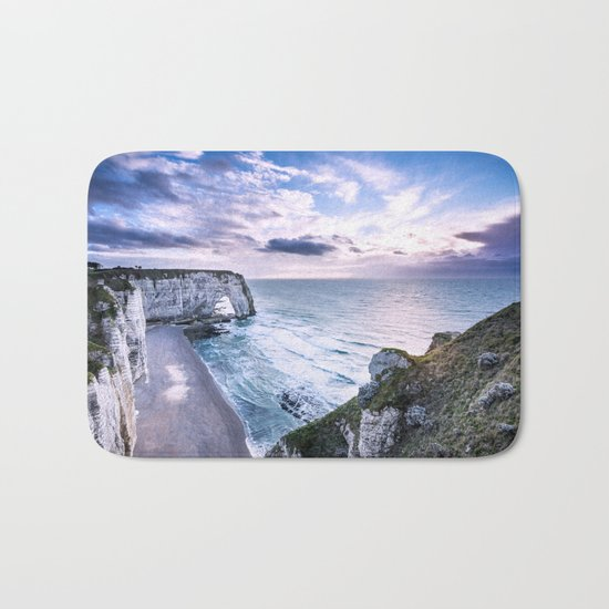 Natural Rock Arch -  ocean, coastal cliffs, waves, clouds, Bath Mat